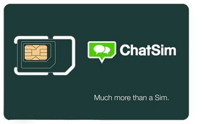 ChatSIM - Unlimited text Messages and anywhere in the world
