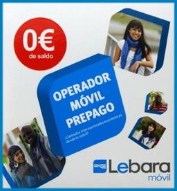 LEBARA SPANISH PREPAID SIM CARD