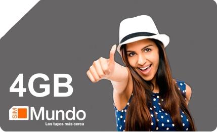 MUNDO 4GB