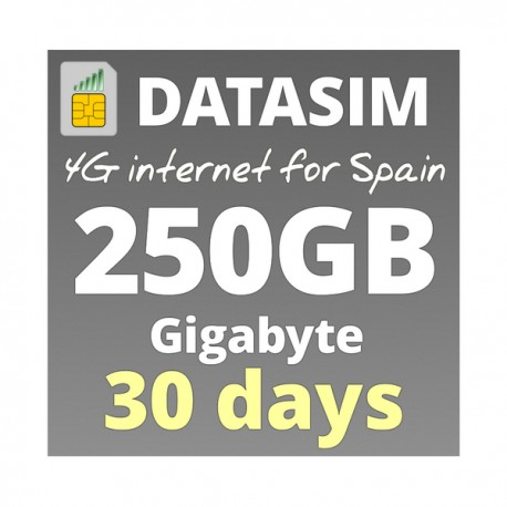 Super Fast 4G INTERNET 250GB FOR 1 MONTHS, prepaid sim-cards