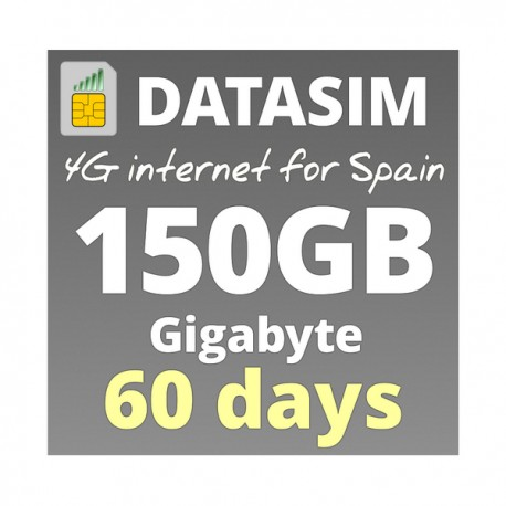 4G INTERNET 150GB - FOR 60 DAYS
