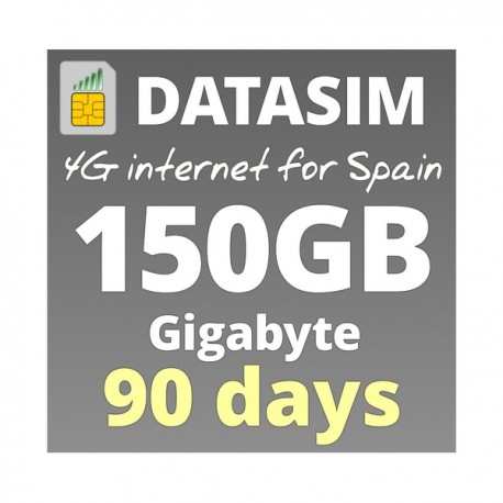 4G INTERNET 150GB - FOR 90 DAYS
