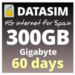 4G INTERNET 300GB - 2 MONTHs