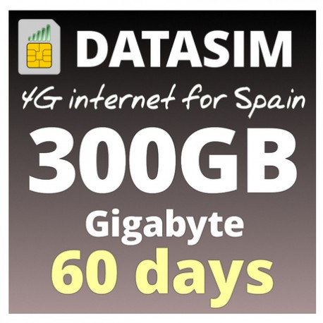 4G INTERNET 300GB - 60 DAYS