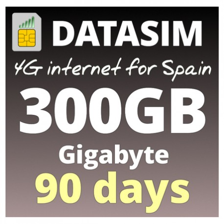 4G INTERNET 300GB - 90 DAYS