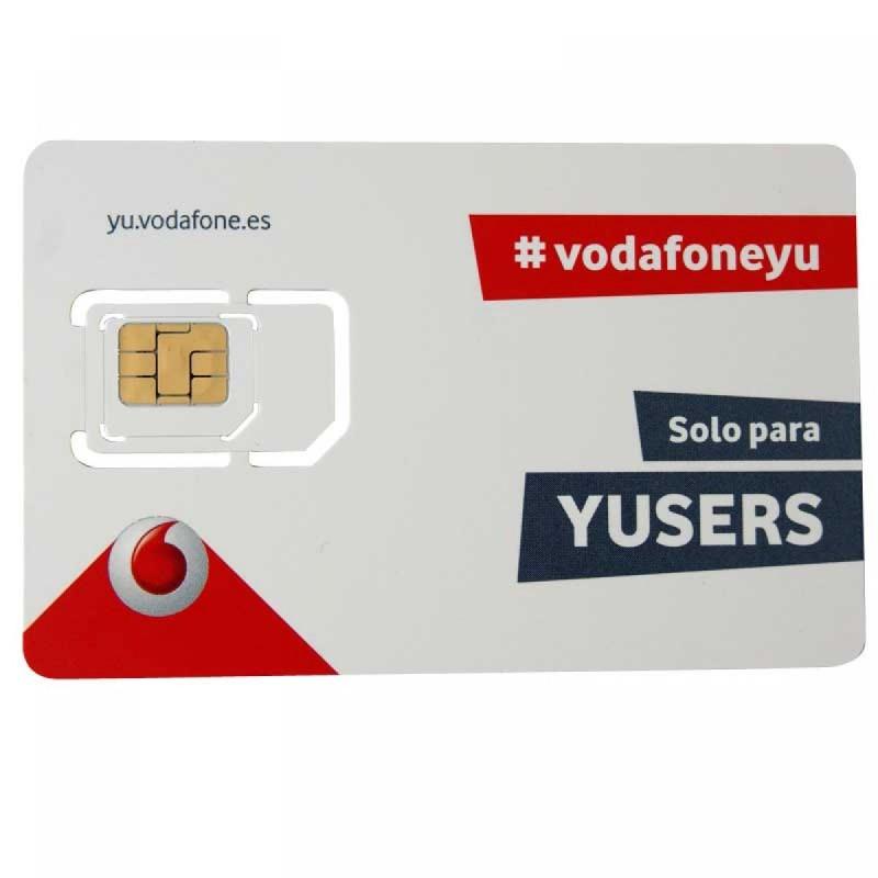 6GB VODAFONE MEGAYUSER - SPANISH PREPAID SIM CARD - Pay As You Go