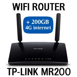 D-link Wifi 4G Router + 4G Internet 200GB in Spain