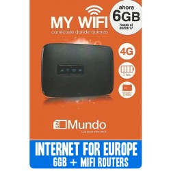 MIFI ROUTER + ORANGE 6GB