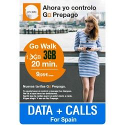 ORANGE SIM Go Walk 3GB + 20min