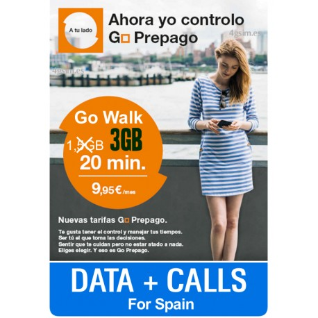 ORANGE SIM Go Walk