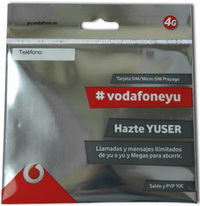 Spain Sim-card: Vodafone Yuser