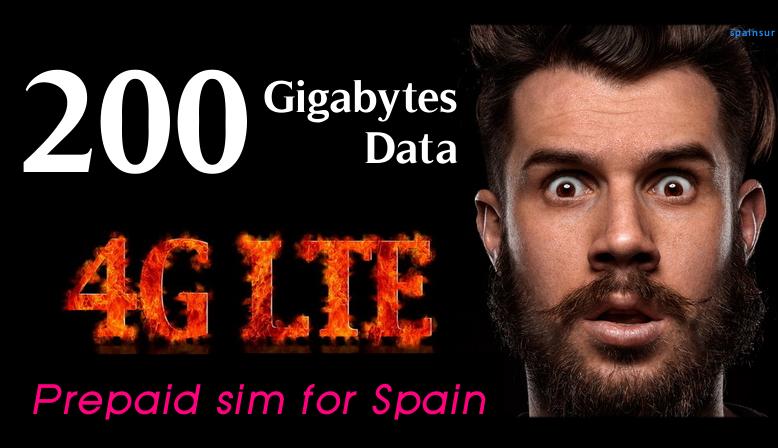 4G INTERNET 200GB