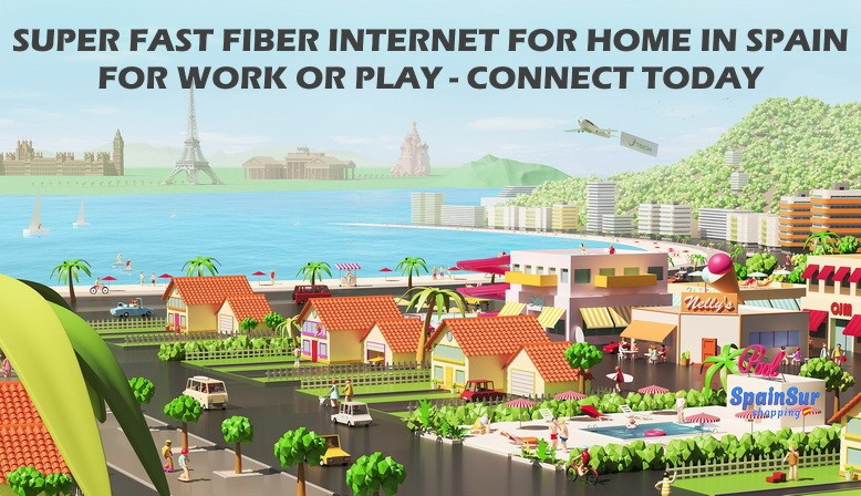 Order internet for home in Spain